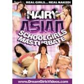 Hairy Asian Schoolgirls Masturbate